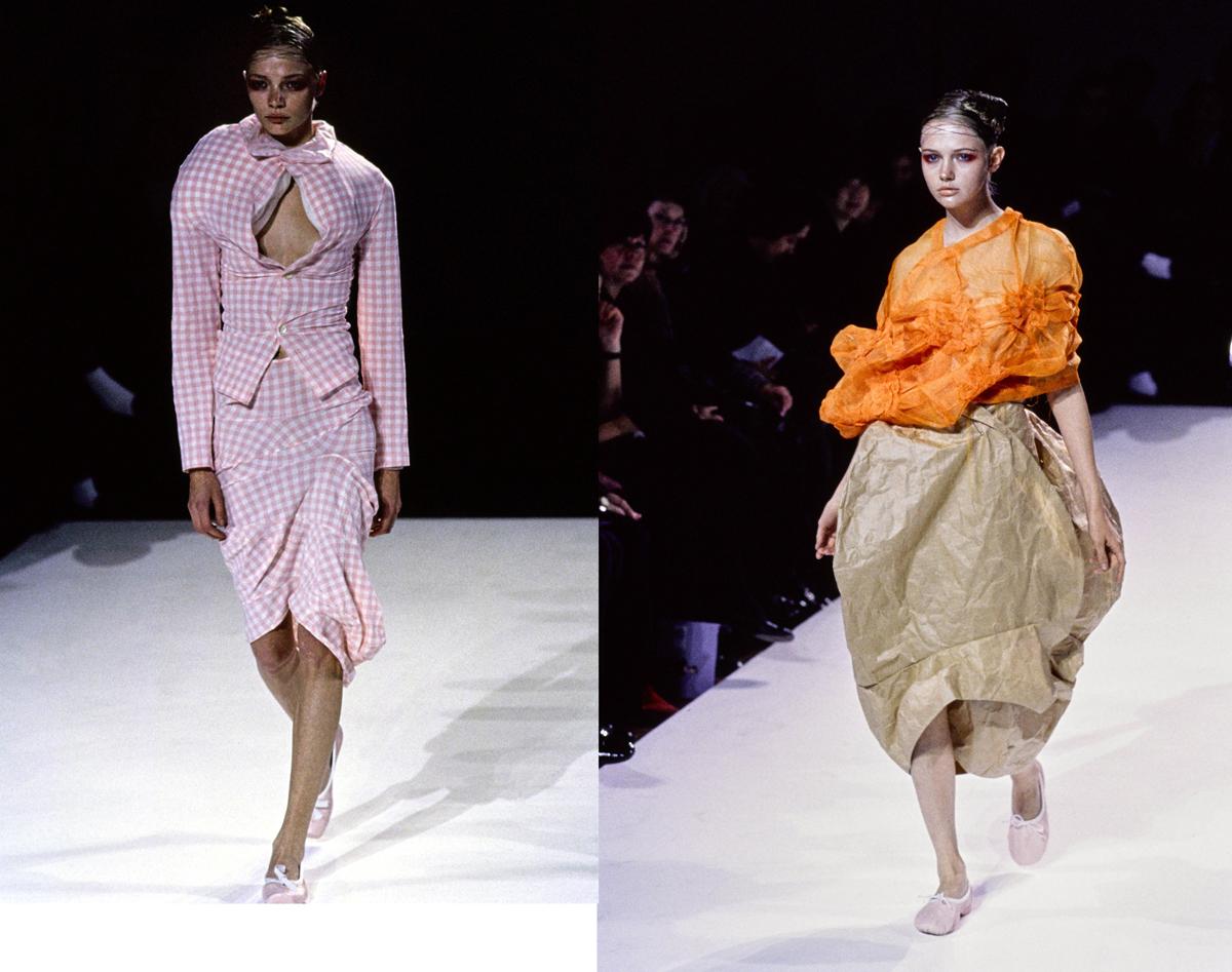 Dois looks da coleção Body Meets Dress ©Reprodução