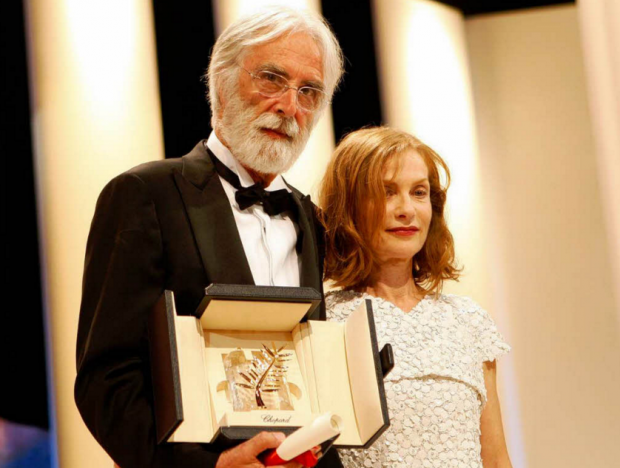 Michael Haneke e Isabelle Huppert fazem o quarto filme juntos ©Reprodução