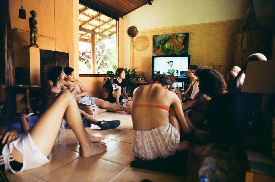 Workshop com a performer Paula Garcia ©Reprodução