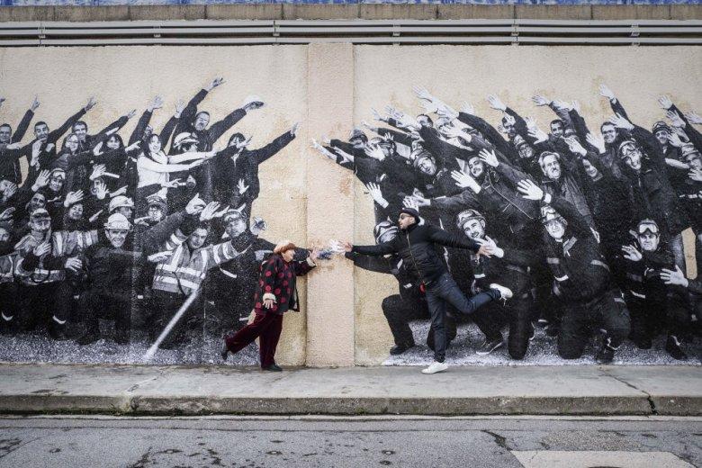 Agnès Varda e JR ©Reprodução