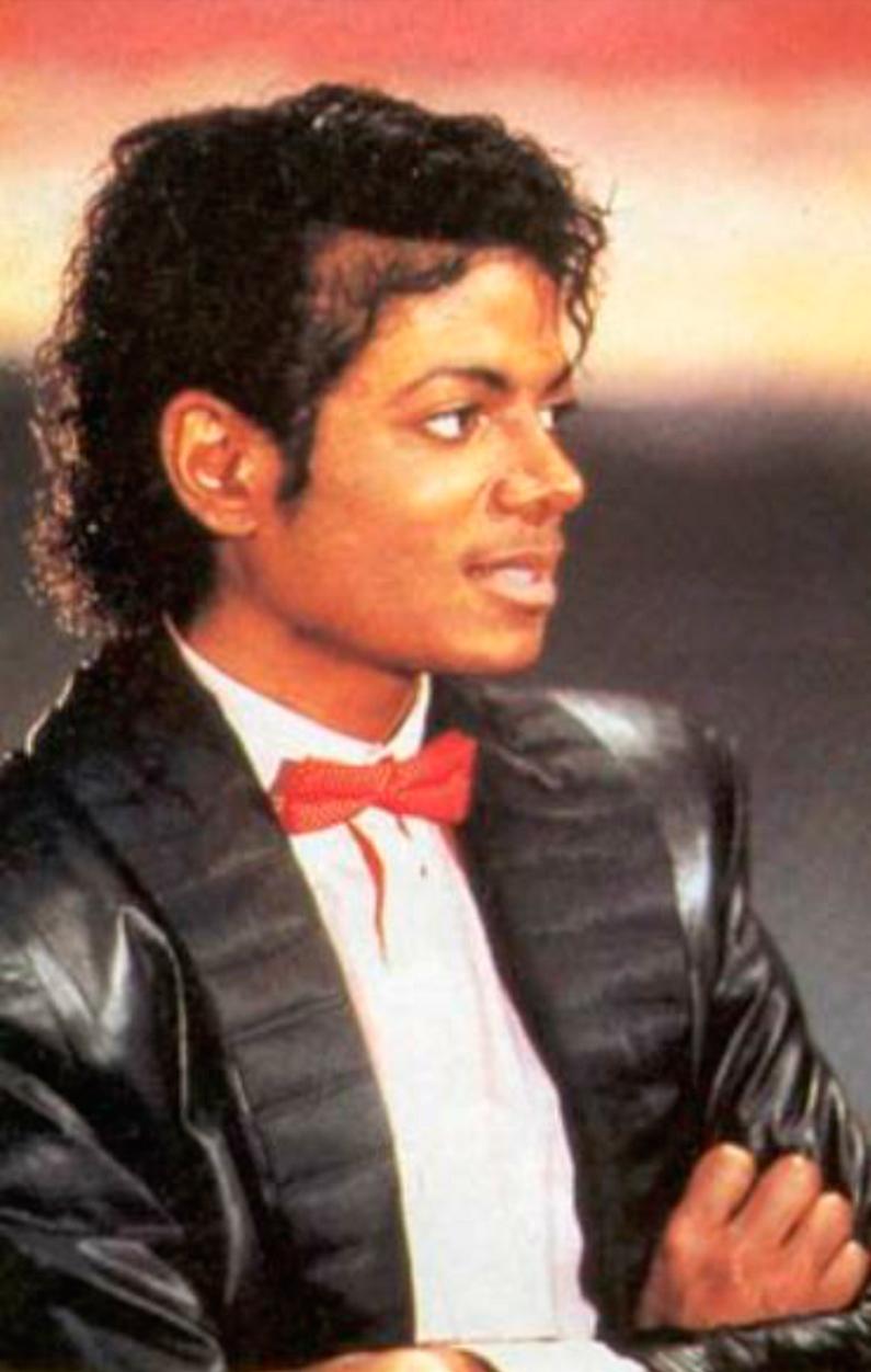 A foto de Michael que estampa a camisa da Supreme ©Reprodução