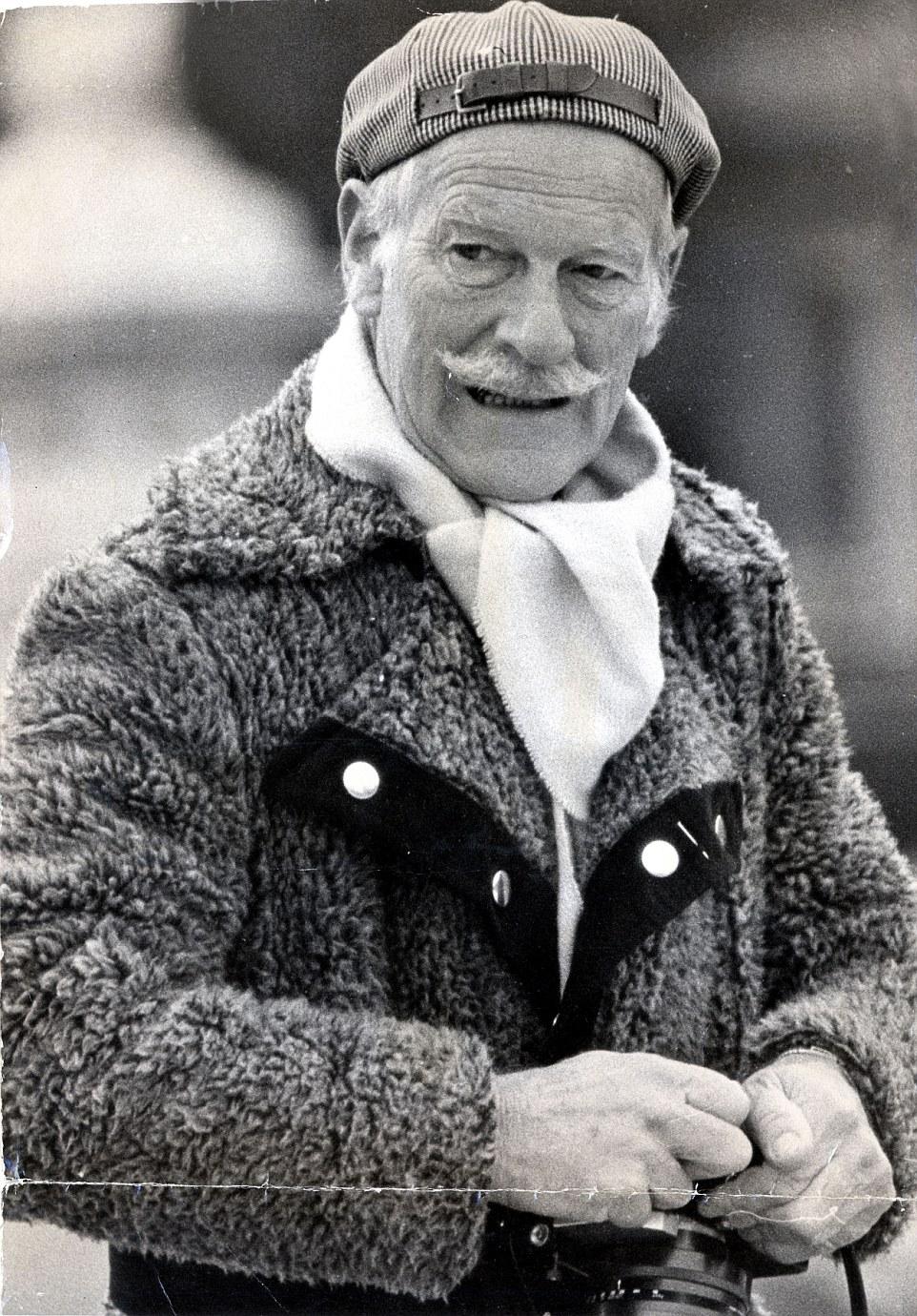 Norman Parkinson em 1981 ©Reprodução