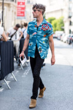 Paris Menswear Street Style - June 21 2017 - Spring Summer 2018