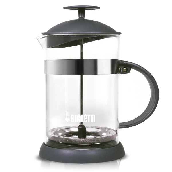 Cafeteira tipo French press, da Bialetti (R$165,99)