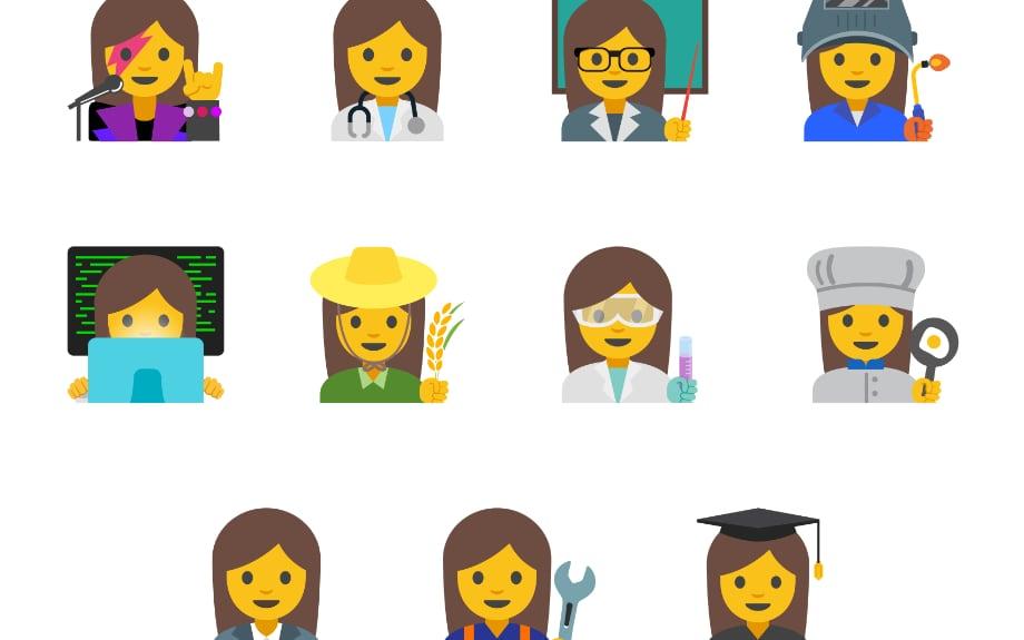 Professional Women Emoji ©Reprodução