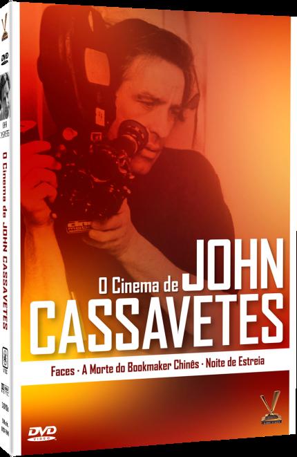 Box John Cassavetes, na Livraria Cultura (R$69,90)