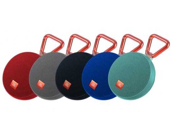 Caixa de som à prova d'água JBL Clip 2, na Fast Shop (R$286,37)