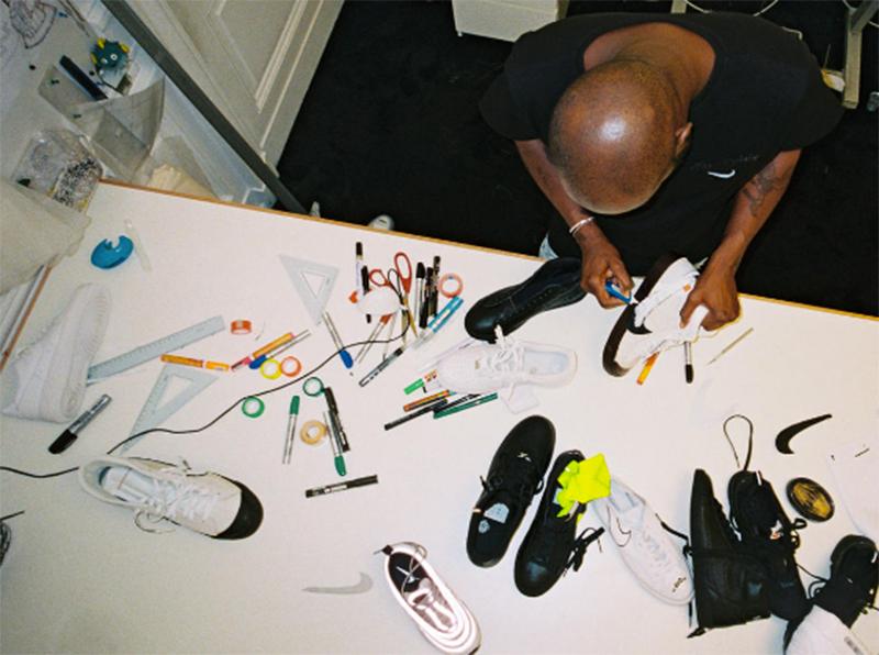 4fec03a1fce Nike x Virgil Abloh  veja todos os modelos da linha mais esperada do ano. Virgil  Abloh trabalhando no HQ da Nike   Reprodução