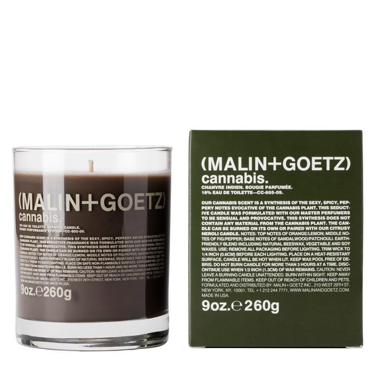 Vela de Cannabis da Malin + Goetz / Reprodução