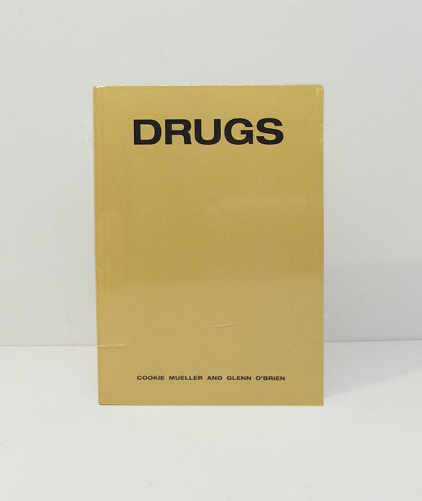 O livro Drugs, de Cookie Mueller e Glenn O'Brien / Reprodução