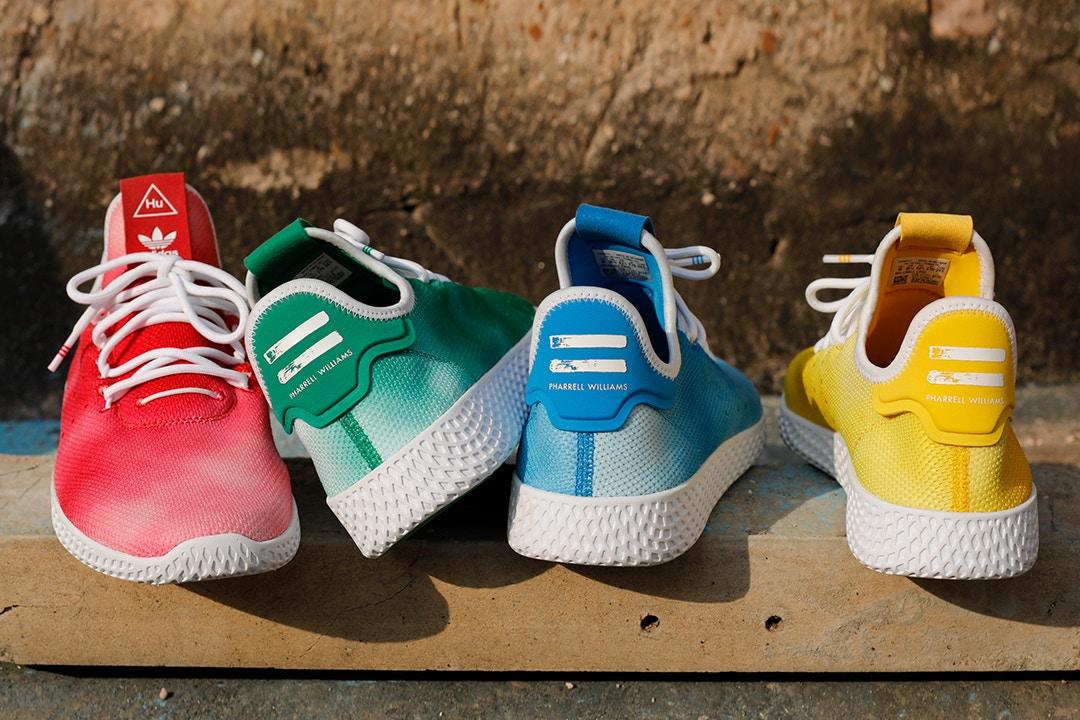 3c2d2e5161b Holi Festival inspira nova coleção de Pharrell Williams para Adidas  Originals