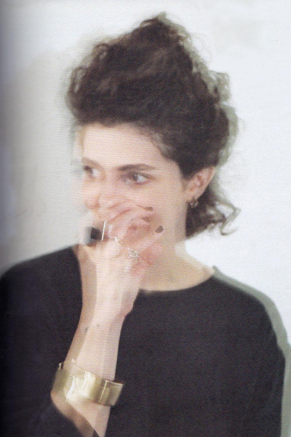 A estilista Livia Campos / Cortesia