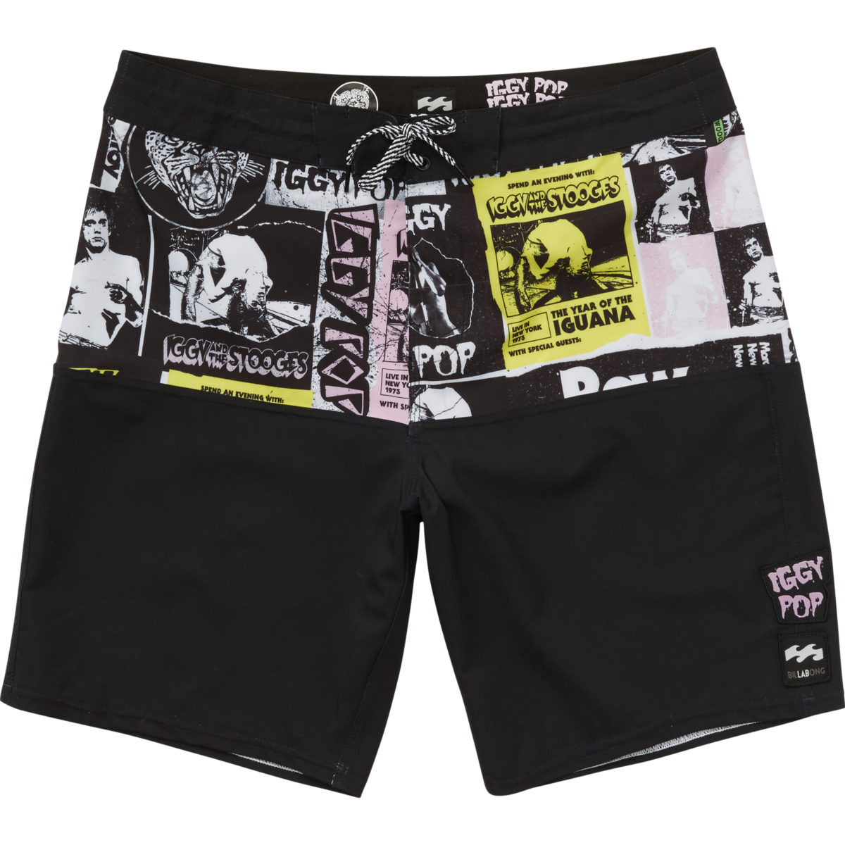 Colab  coleção assinada pelo ícone do punk Iggy Pop para Billabong Lab  chega ao Brasil  veja todas as peças    Notícias    FFW 3d99ec145b4