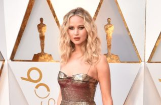 Jennifer Lawrence de Dior Couture