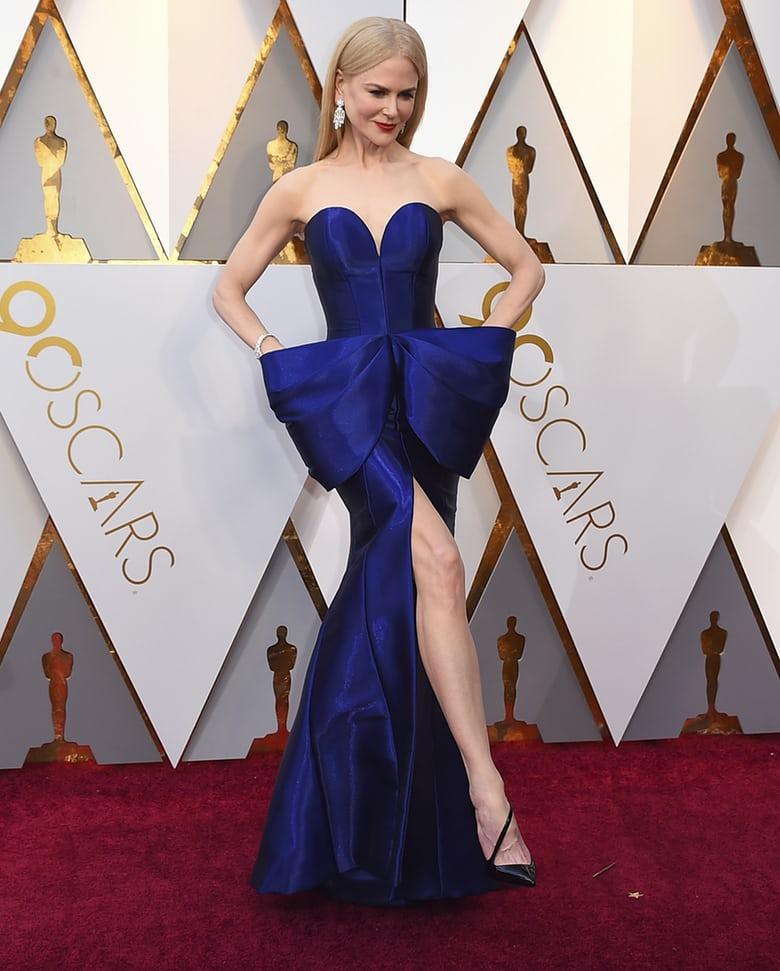 Nicole Kidman de Armani Privé
