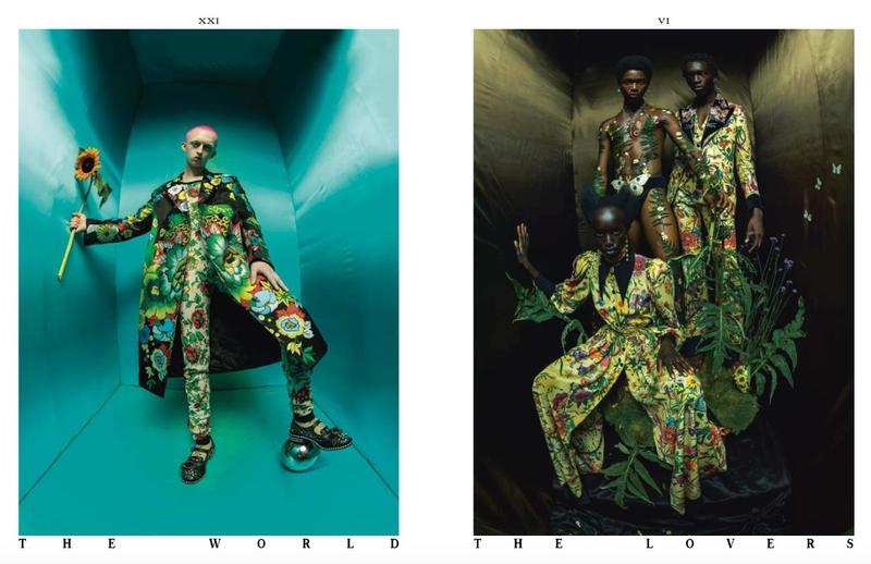 We Wake Eternally - Inside the Arcane World of Gucci, Another Man Magazine, setembro 17 / Reprodução