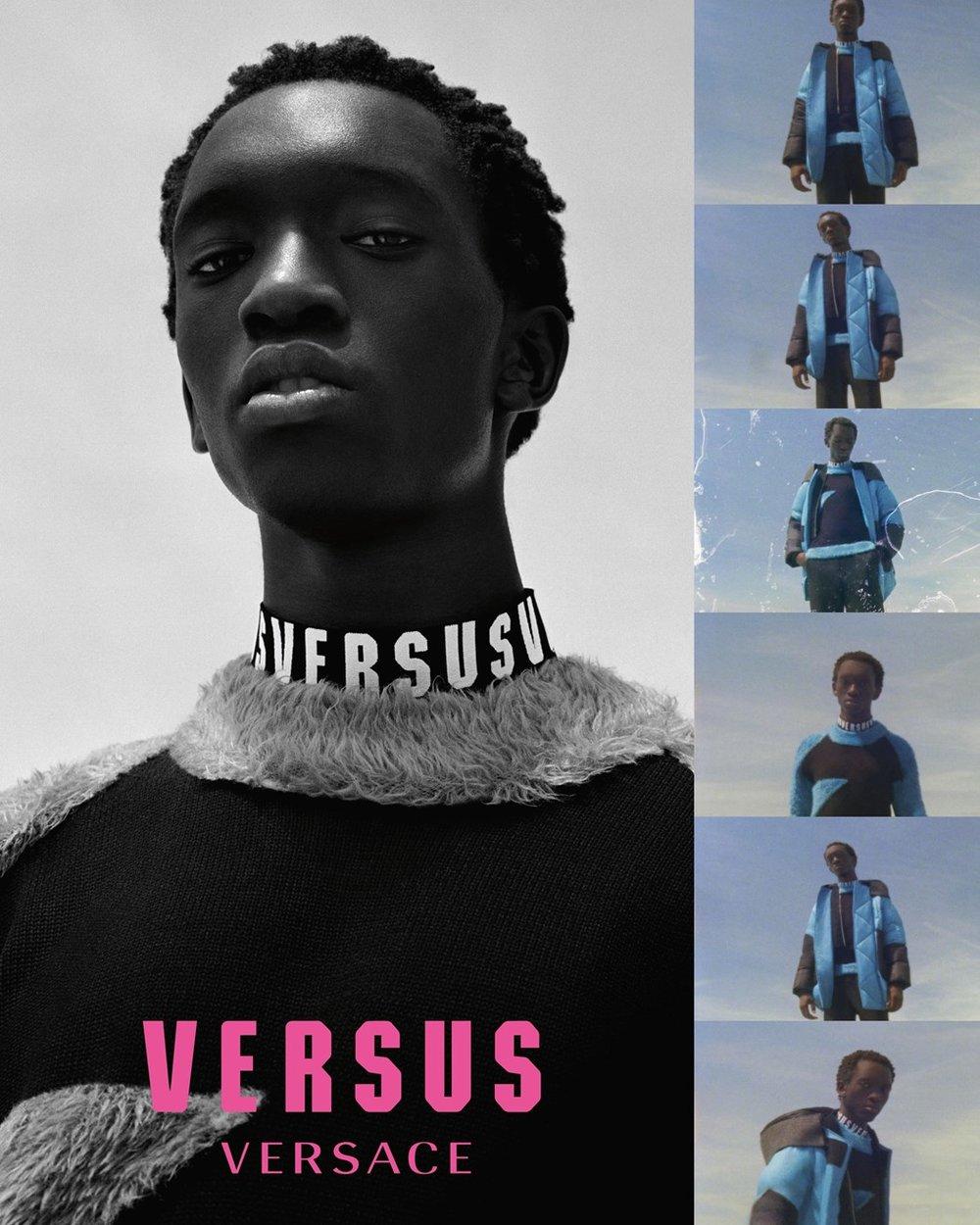 Versus Versace, Inverno 18 / Reprodução