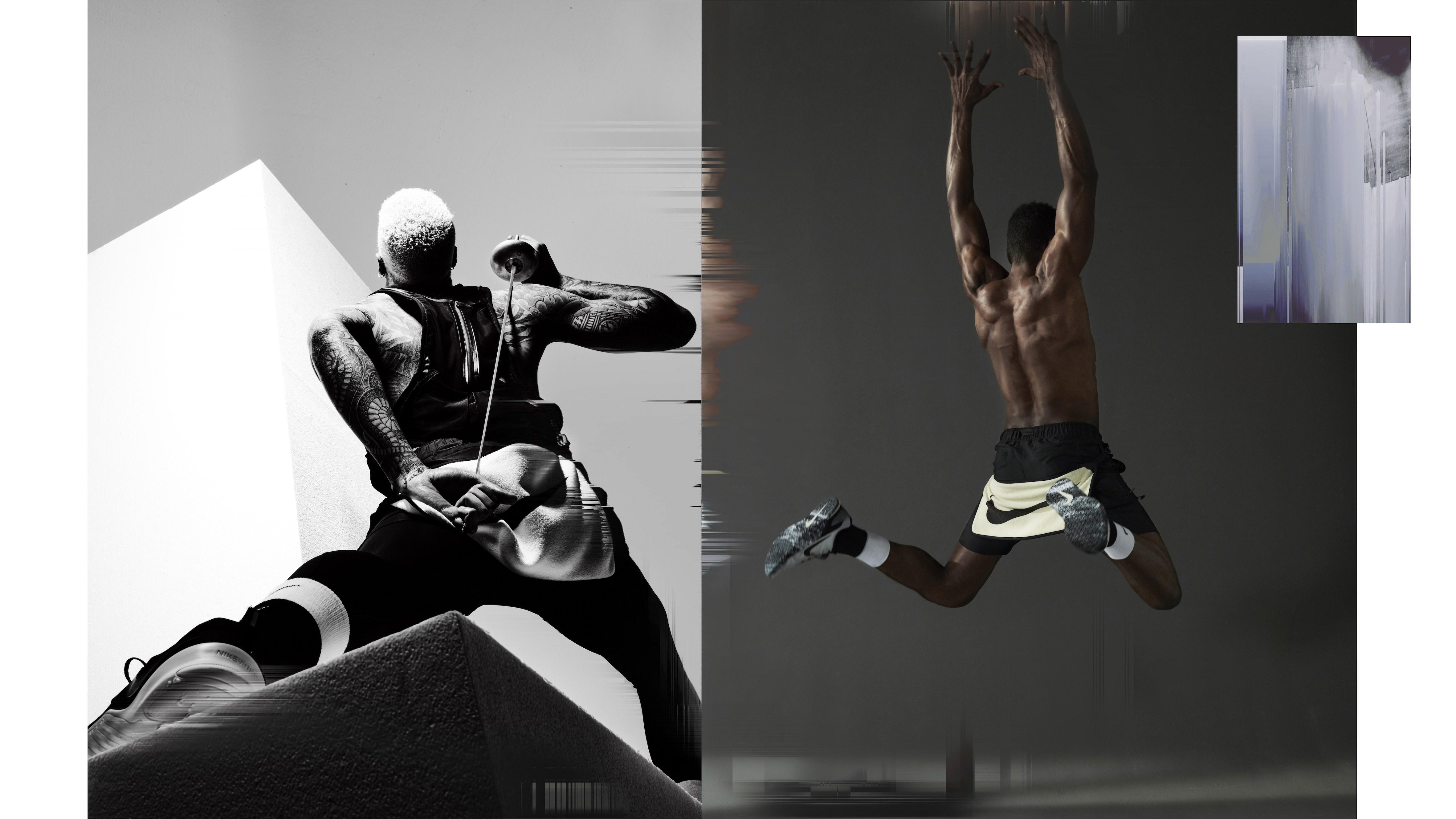 Campanha da Nike x MMW fotografada por Nick Knight / Reprodução