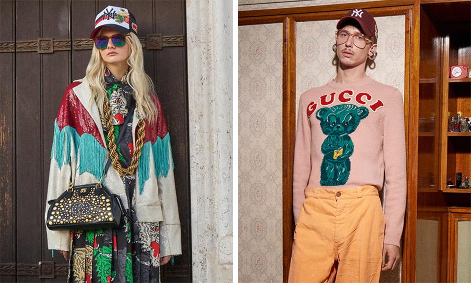 Campanha de Pre-fall 2018 da Gucci, de olho na França dos anos 60