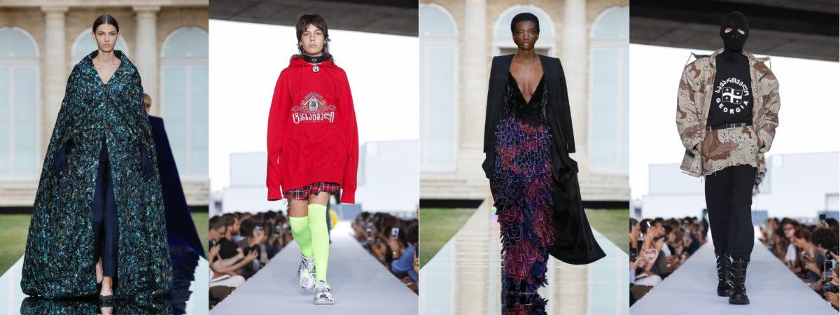 28f28422e Looks da Givenchy e Vetements no primeiro dia de Alta Costura em Paris /  Reprodução