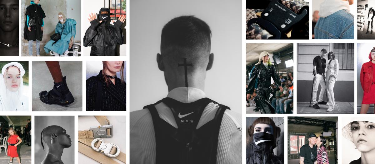 Espaço do designer Matthew Williams na plataforma Grailed / Reprodução