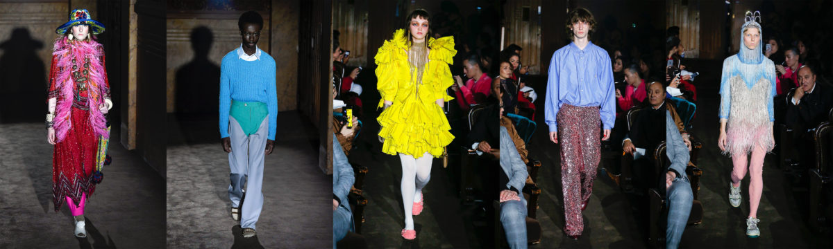 Looks da Gucci Verão 2019 / Cortesia