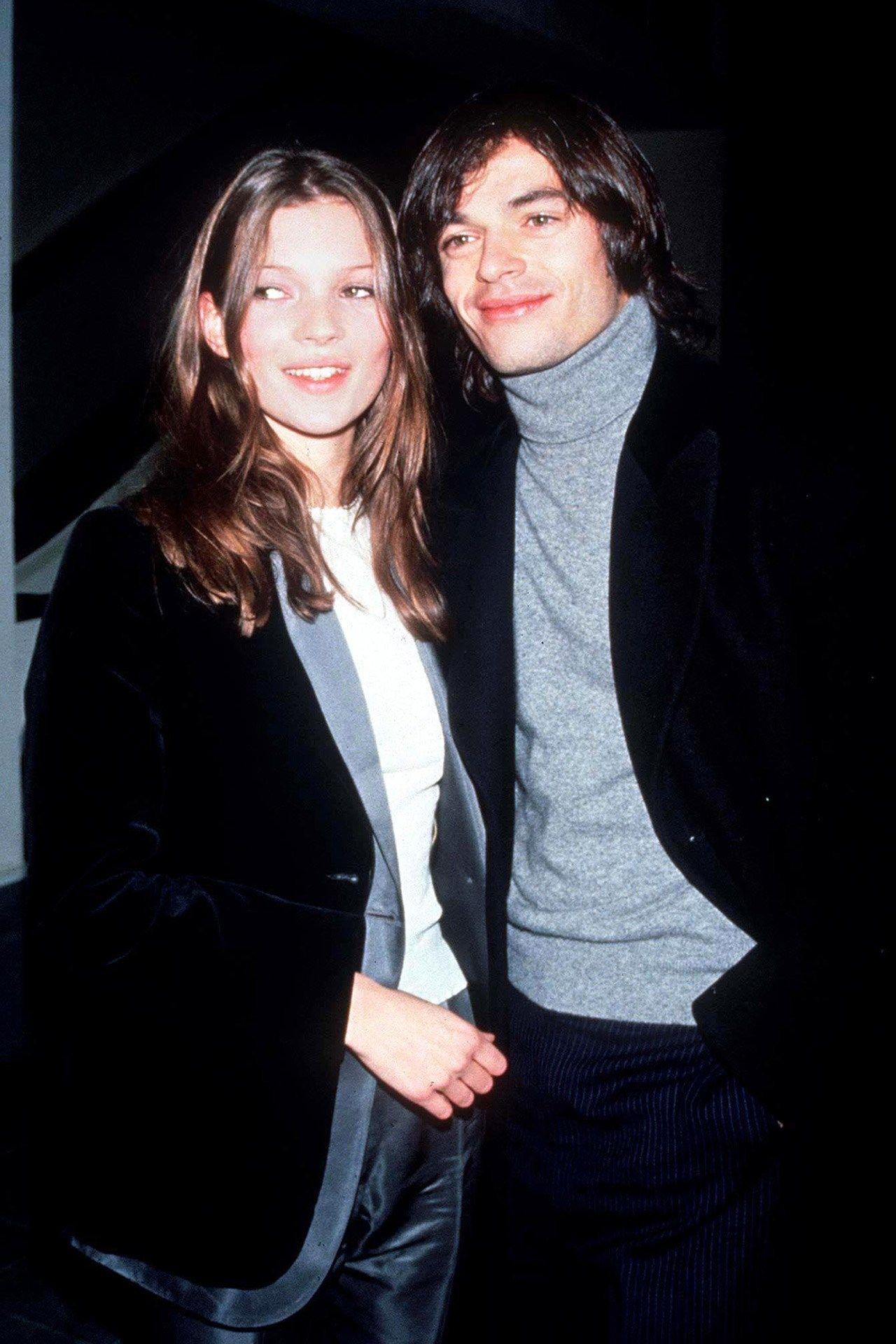 Kate e Mario nos anos 90 / Reprodução