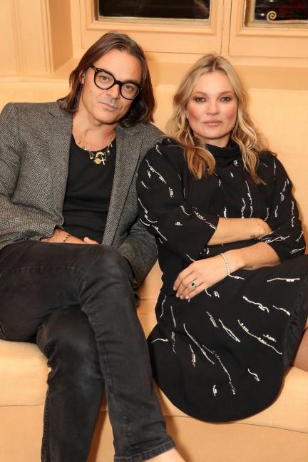 Mario e Kate, ainda amigos hoje, no lançamento do livro em Londres / Foto WWD