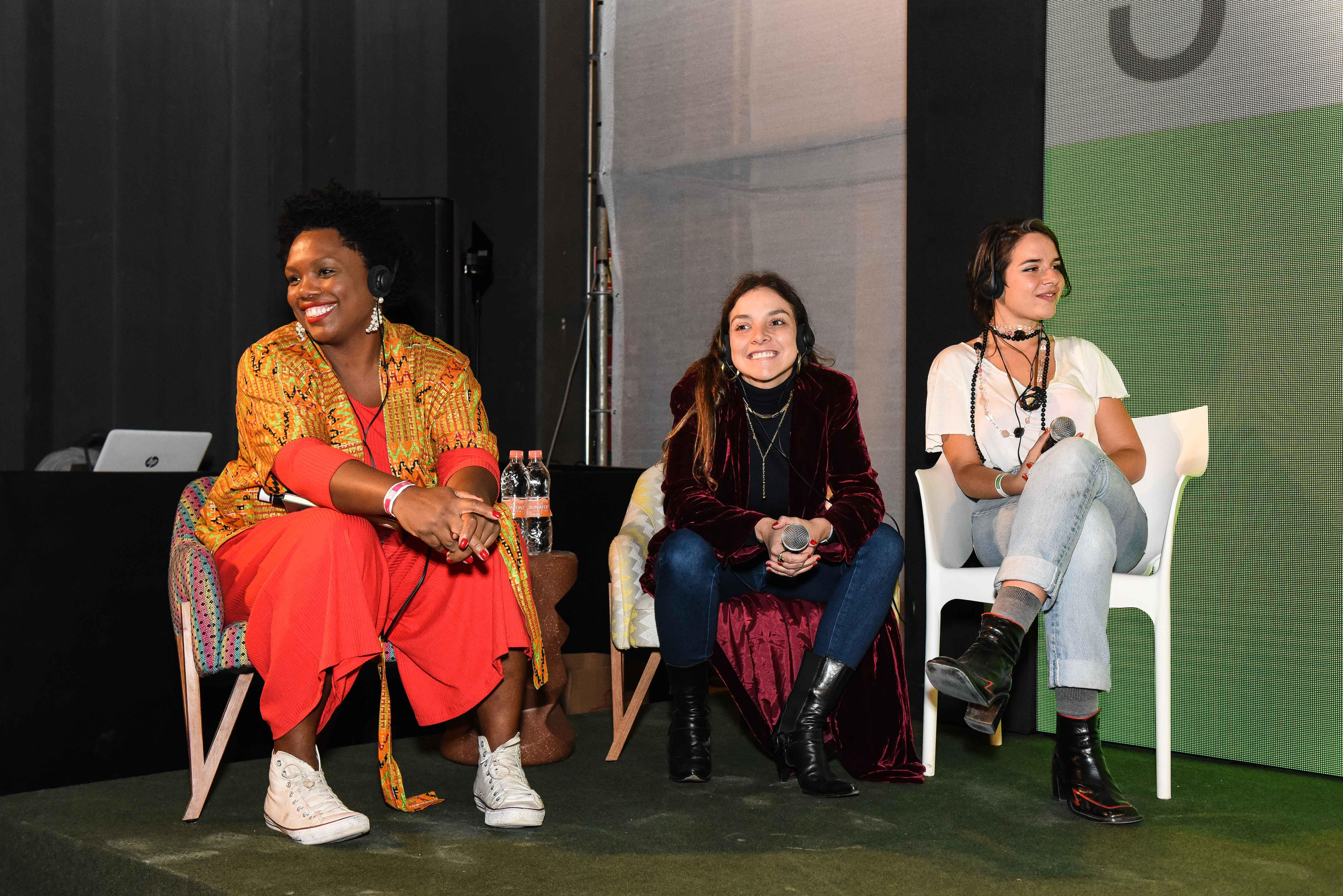 Renata Martins, Yasmine Sterea e Vitória de Mello Franco © GABRIEL CAPPELLETTI / AGÊNCIA FOTOSITE