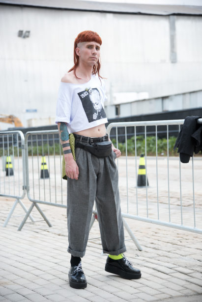 Street Style - SPFW N46 out/2018 foto: Murilo Yamanaka / Fotosite