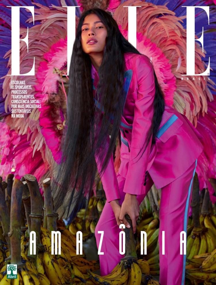 Última edição da Elle Brasil / Reprodução