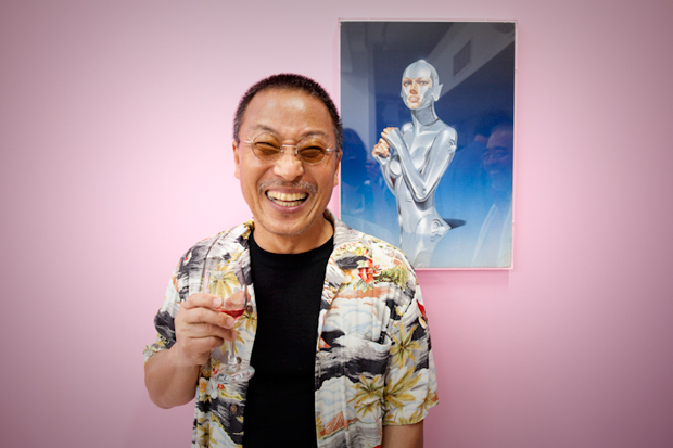 Hajime Sorayama © Reprodução
