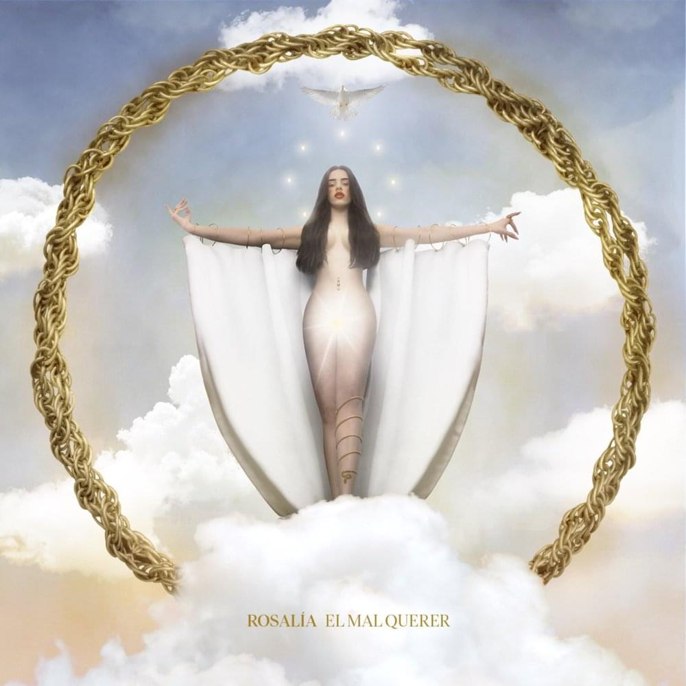 Capa do novo álbum de Rosalía, El Mal Querer / Reprodução