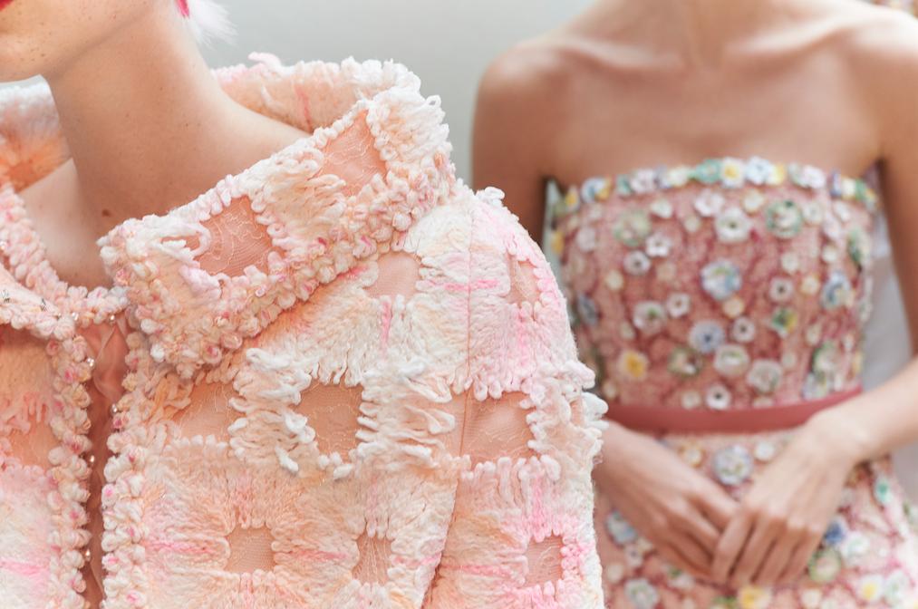 Close nos vestidos da Chanel / Cortesia