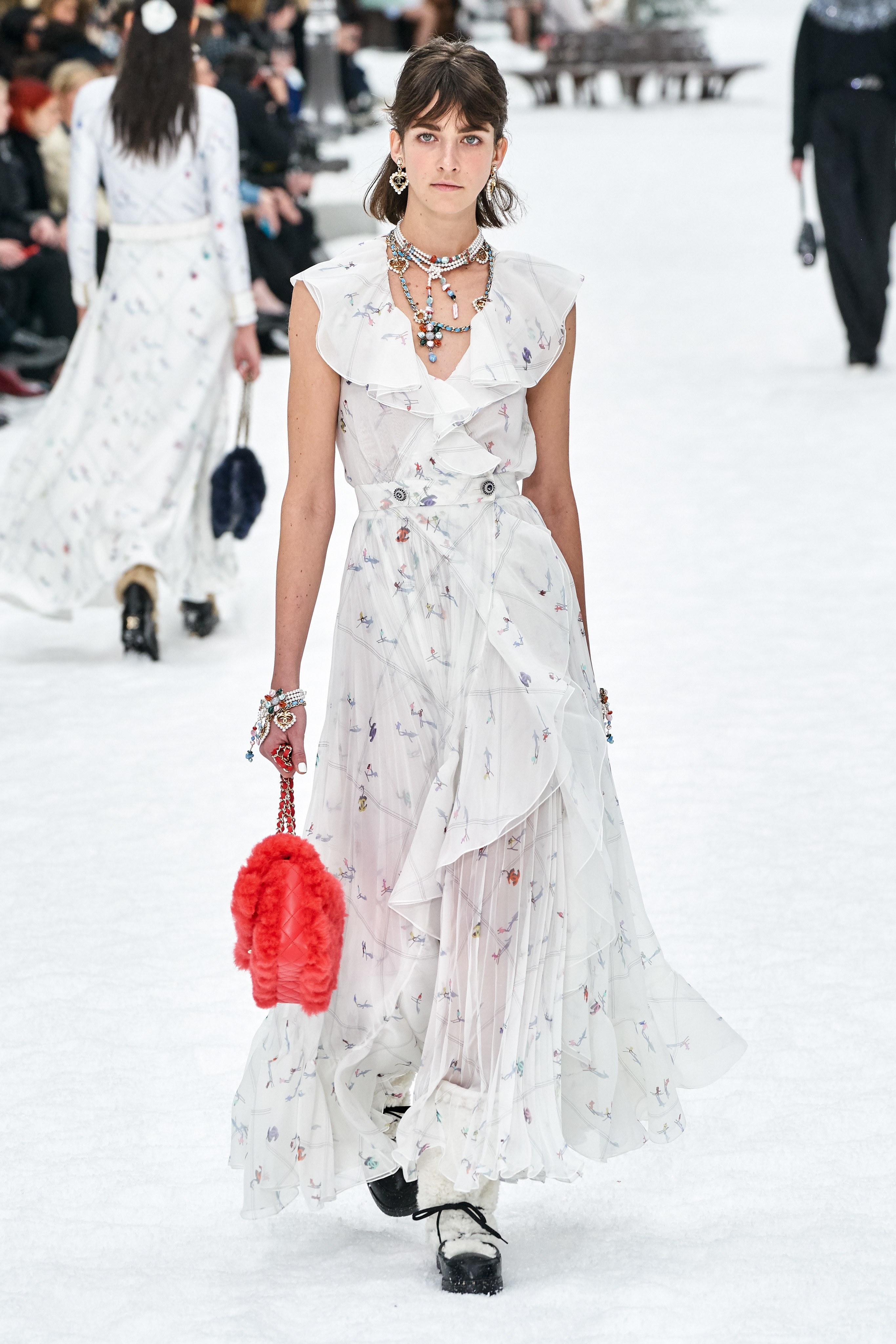 Cris Herrmann desfila para Chanel / Cortesia