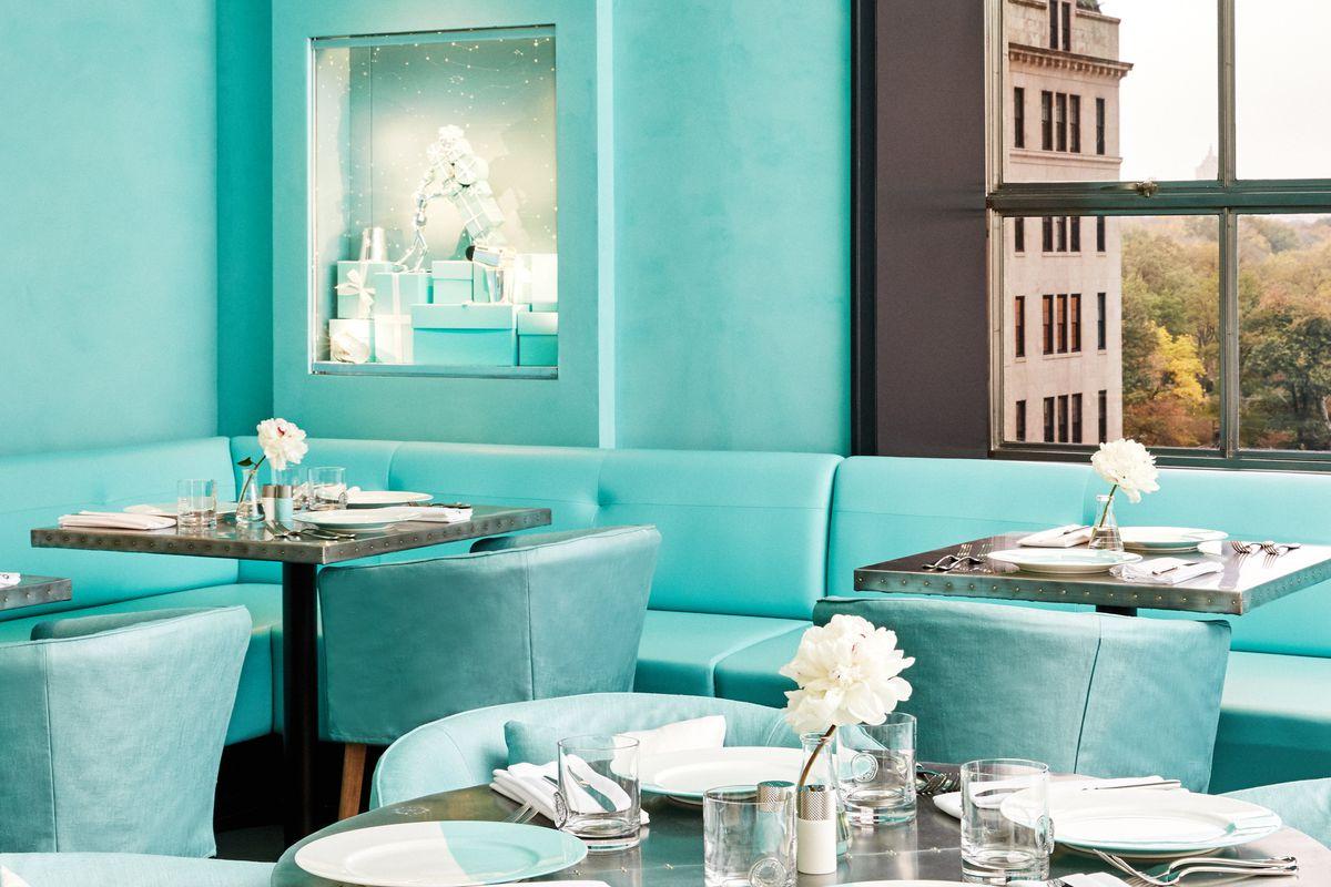 Blue Box cafe: agora todo mundo pode fazer um reakfast at Tiffanys / Reprodução
