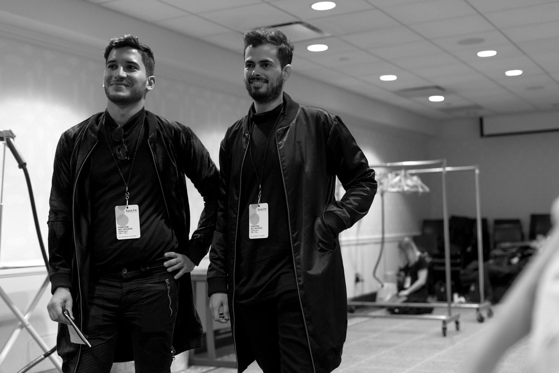Rafael e Caio / Foto: Pedro Pereira