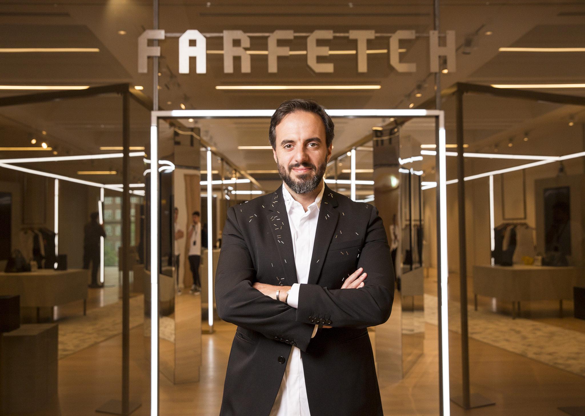 José Neves, fundador da Farfetch / Reprodução