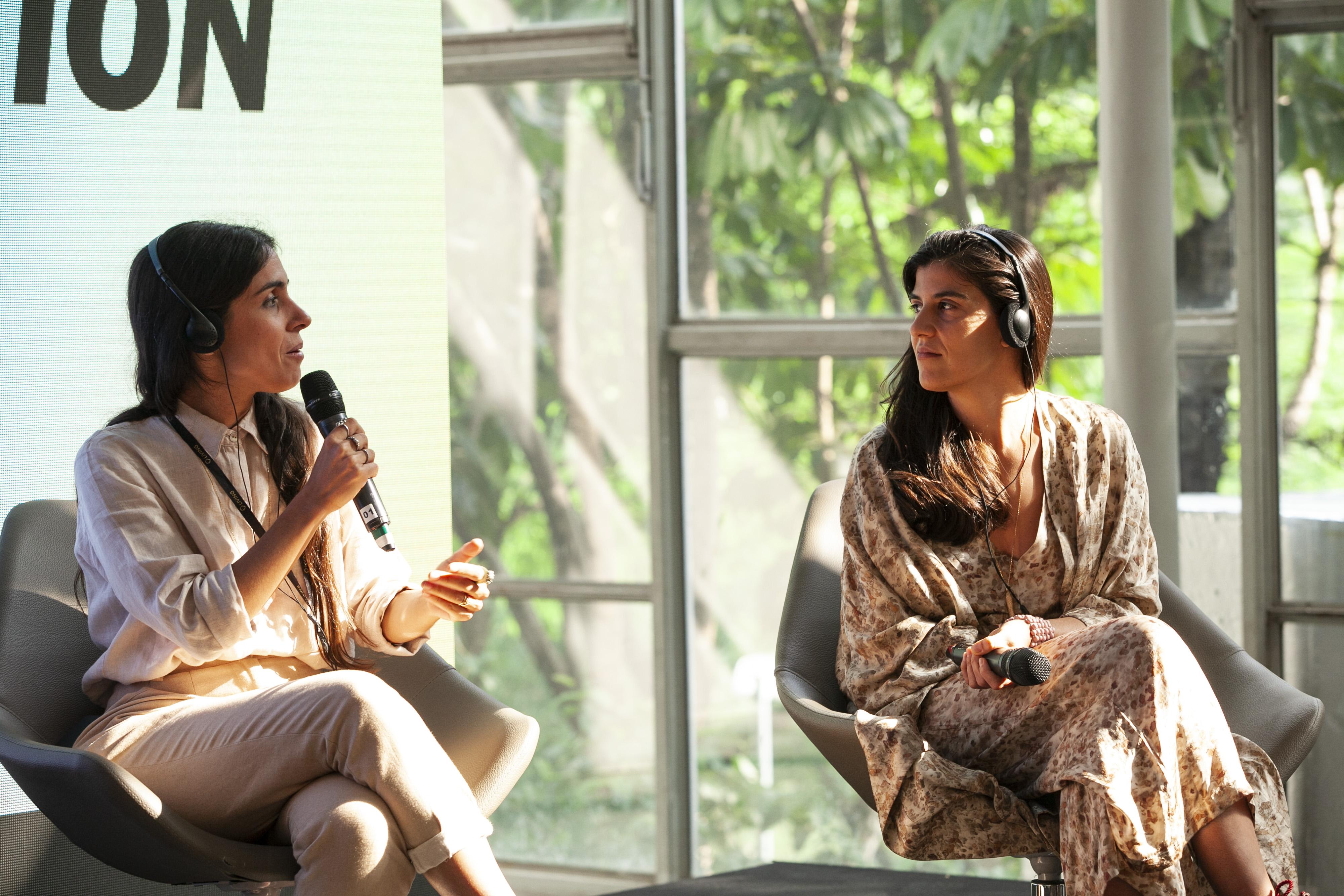 Fernanda Simon e Flavia Aranha no Projeto Estufa do SPFW N48 | Agência Fotosite