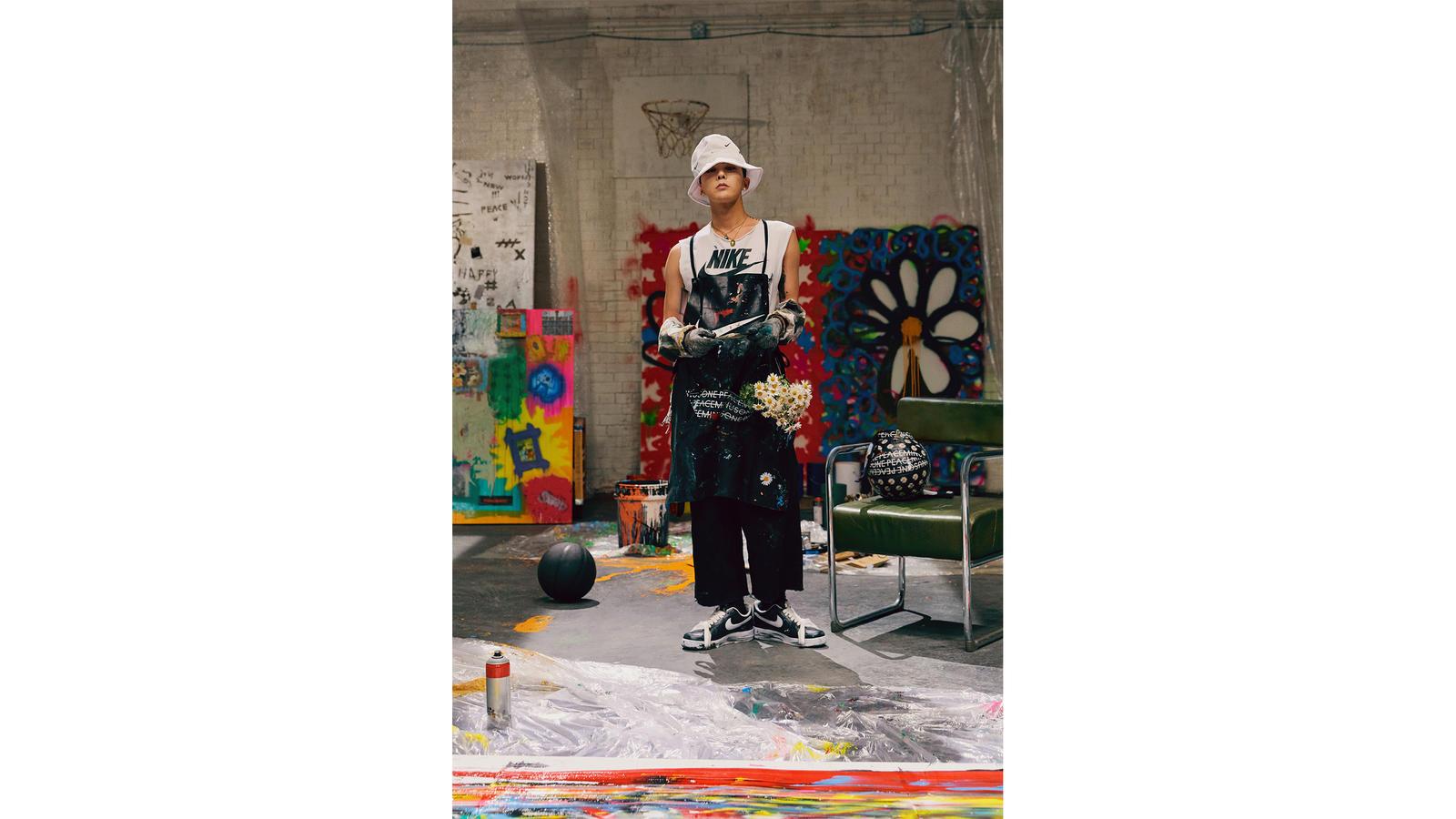 G.Dragon, o mais novo colaborador da Nike / Cortesia