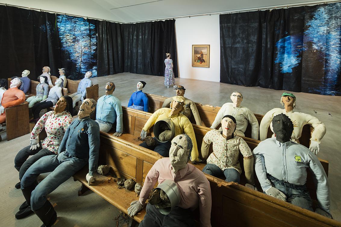 Collective Conscience, obra de Oscar Murillo / Reprodução