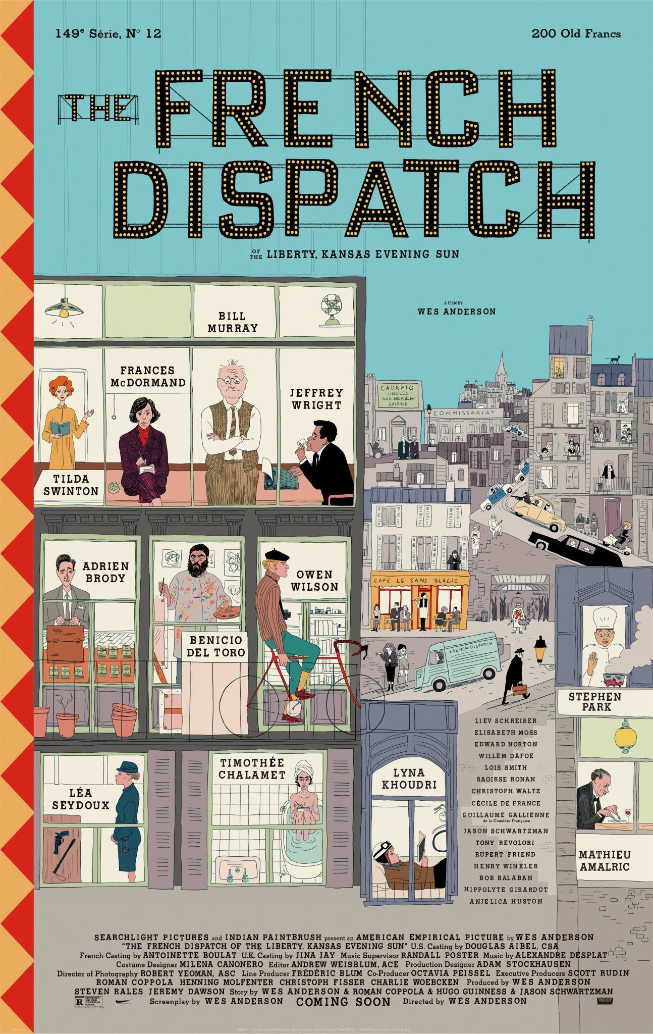 Poster de The French Dispatch