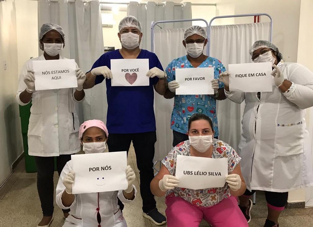 Médicos de UBS em Macapá / Reprodução