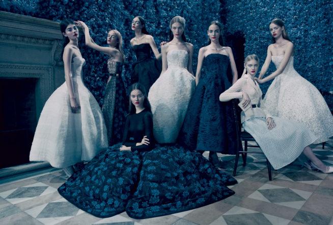 Looks de Alta-Costura da Dior por Raf Simons ©Cortesia: Dior