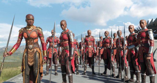 Mulheres de Wakanda no filme Pantera Negra | Foto: Divulgação