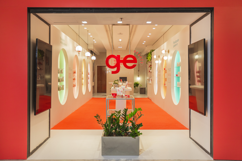 A primeira loja da GE Beauty no shopping em Recife / Cortesia
