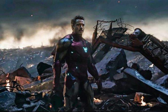 Robert Downey em Vingadores: Ultimato
