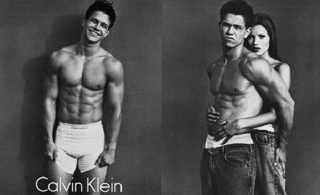 Mark Wahlberg para Calvin Klein em 1992