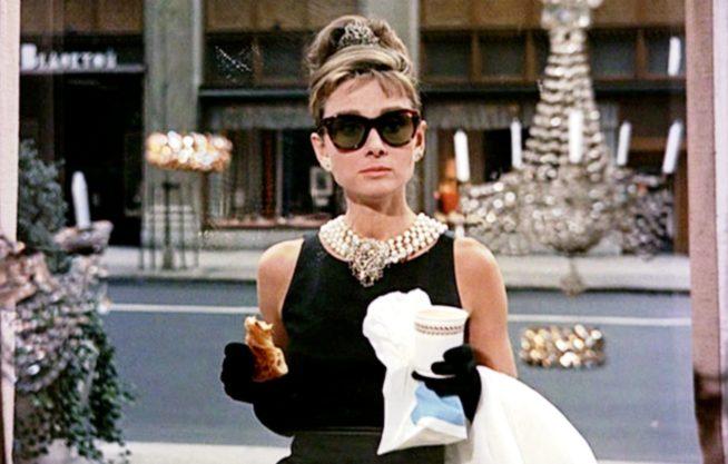 Audrey Hepburn em Bonequinha de Luxo. foto: reproducão