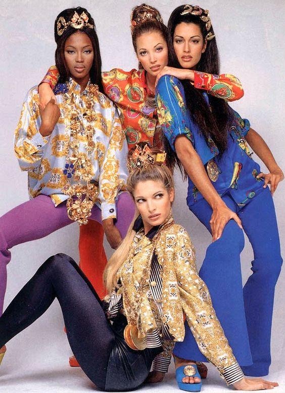 Campanha Versace 1992